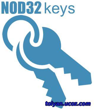 nod32 скачать ключи